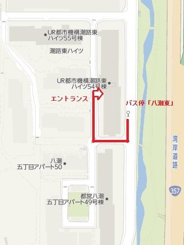 54号棟地図